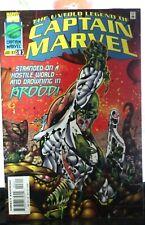 CAPTAIN MARVEL #3 THE UNTOLD LEGEND OF 1ST PRINT MARVEL COMICS (1997)