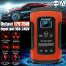 12V 5A LCD Chargeur de Batterie Réparation d'impulsion Auto Voiture Moto AGM