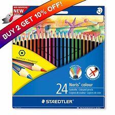 Staedtler 24 Noris Wopex Hexagonal Colour Pencils Set - Buy 2 Get 10% off!