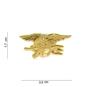 US Army Navy Seals Collar Badge Pin Insignia Uniform Marines USMC WK2 WKII WW2 2