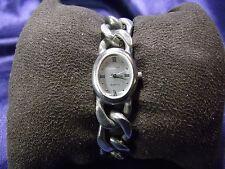 Woman's Amitron Watch with Heavy Chain Band **Nice** B56-1053