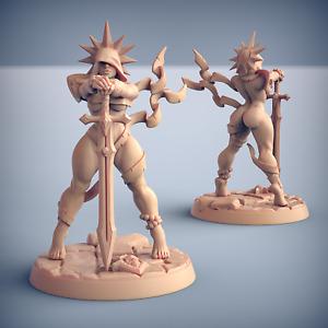 Requiem Brotherhood Pinup - Artisan Guild Dungeons and Dragons Miniature Fantasy