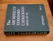 The Architects Standard Catalogues, 1954-55-56, Volume 1 and Volume 4