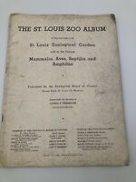 1949 The St. Louis Zoo Album  VTG Information Guide Animals  Reptiles