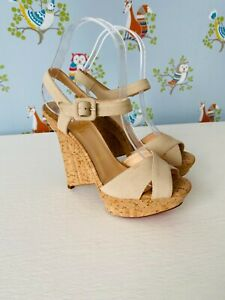 Christian Louboutin New Authentic Wedges Size 36 Fit Small