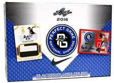 2016 LEAF PERFECT GAME BASEBALL NATIONAL SHOWCASE HOBBY BOX