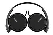 Sony Headphones MDR-ZX110 Overhead Foldable Stereo Sound Black Headband