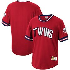 Minnesota Twins Mitchell & Ness Cooperstown Collection Wild Pitch Jersey T-Shirt