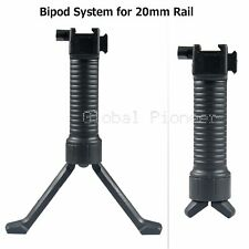 Tactical Bipod Vertical Hand Fore Grip Foregrip Fit Picatinny Weaver Rail 20mm