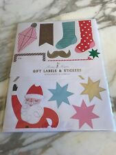 Meri Meri Christmas Gift Labels and Stickers Ho Ho Ho Package of 120 Stickers