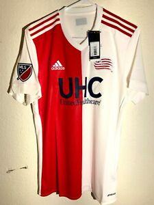 Adidas MLS Jersey New England Revolution Team White sz L