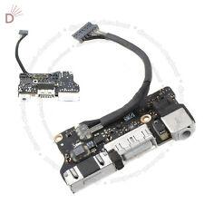 "Apple Macbook Air De 13 ""A1466 2012 Md231 820-3214-a Dc Power Jack De Audio Board"