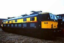 PHOTO  1505 NS (DUTCH RAILWAYS) 1500V DC OVERHEAD 2300HP CO-CO NO 1505 IN NS LIV
