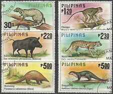 Timbres Animaux Philippines 1121/6 o lot 7574
