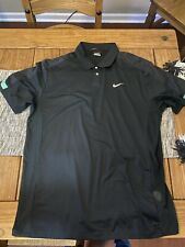 Nike Tiger Woods Dri Fit Polo Size Large Gently Used