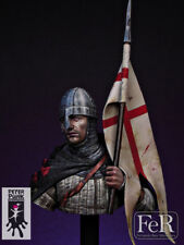 FeR Miniatures, Knight Templar Holy Land, 1120,1/12th scale bust kit resin NIB