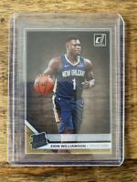 ZION WILLIAMSON *2019 Panini Donruss Clearly RC No.51 Rated Rookie Pelicans