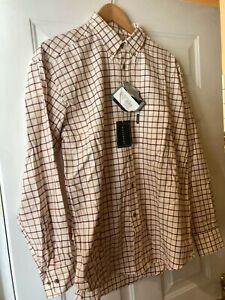 Le Chameau Men's Chemise Woodbridge Rouge Shirt M - New (DS)