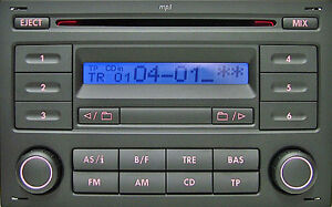 Volkswagen Sharan RCD200 CD Radio Aux Active +Code Warranty Premium Refurbe Part
