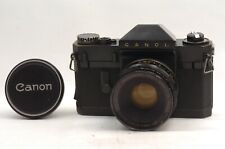 @ Ship in 24 Hours! @ Very Rare! @ Canon Canonflex RP Black 35mm Film SLR Camera