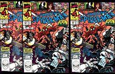 AMAZING SPIDER-MAN #331 X 9 NM 9.4 COPIES VENOM, BLACK CAT, PUNISHER! NICE PACK!