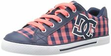 NEW IN BOX WOMENS DC CHELSEA TX SE CORAL PINK SKATE SHOE SIZE 5