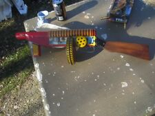 MARX TIN LITHO SPARKLING SIREN MACHINE GUN TOMMY G MAN