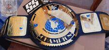WWF Attitude Era BIG EAGLE World Heavyweight Championship New Belt  Red&Blue