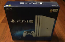 (Brand New) Sony PS4 Pro 1TB Glacier White Limited Edition