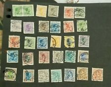 Denmark, Danmark, nice lot of all different Chr X stamps used