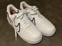 Nike Air Force 1 React D/MS/X White/Red/Black Men's Size 8 CD4366-100