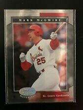 2001 Leaf Certified Materials Mark McGwire #15 St. Louis Cardinals