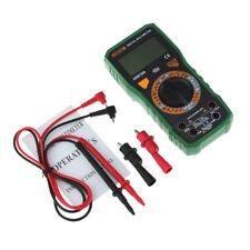 Multímetro digital LCD Multímetro Volt Amp Continuity Tester Buzz NCV Test