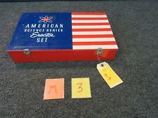 Ac Gilbert Vintage Erector Metal Box Case 10055 Electric Engine American Science