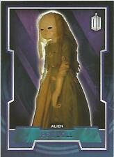 "Topps Doctor Who 2015 - No. 89 ""Peg Doll"" Purple Parallel Card #73/99"