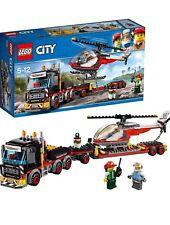 LEGO CITY, jeux de construction, transporteur d'hélicoptère, NEUF CADEAUX NOEL