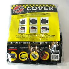 Char-Griller Adjustable Grill Cover Model 5555, Fits Barrel Length 30""