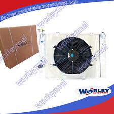 Aluminum radiator&shroud&fans for HOLDEN COMMODORE VB VC VH VK V8 1979-1986 Auto