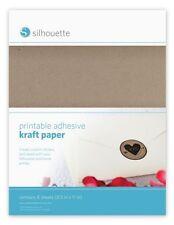 SILHOUETTE - Printable Adhesive Kraft Paper