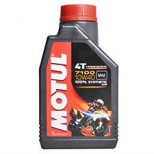 1 LT. OLIO motore moto MOTUL 7100 10W40 100% Sintetico 4 TEMPI NEW Ester