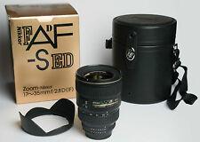 AF-S Zoom-Nikkor 17–35 mm 1:2,8D IF-ED, Nikon Silent Wave mit Zubehör