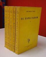 El espectador, 8 tomos en 5 volúmenes - José Ortega y Gasset