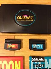 Vintage Handheld Electronic Question And Answer Game Blackjack Poker Lot