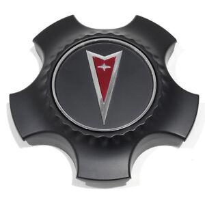 OEM NEW Wheel Hub Center Cap Cover Black w/ Logo 08-09 Pontiac G8 92203235