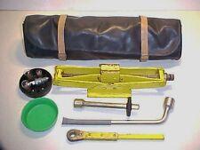 Ferrari Jack Kit_Roll Bag_Lug Wrench_Ratchet_Extension Tools_Bulb Kit 308 365