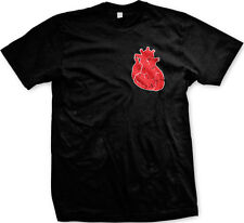 Realistic Heart - Love Valentine's Day Lifeline Mens T-shirt