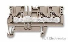 WEIDMULLER    1896120000    DIN Rail Mount Terminal Block, 3, 600 V, 30 A, 26 AW