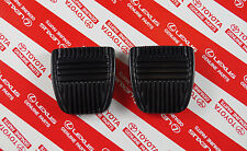 Genuine Toyota Landcruiser 80 Series Brake & Clutch Pedal Pad Pair