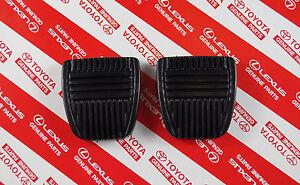 Genuine Toyota Landcruiser 80 Series Brake & Clutch Pedal Pad Pair