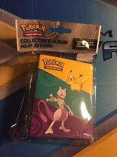 XY Evolutions MINI Album Pikachu Mewtwo MEGA Charizard 60 Card Binder Pokemon